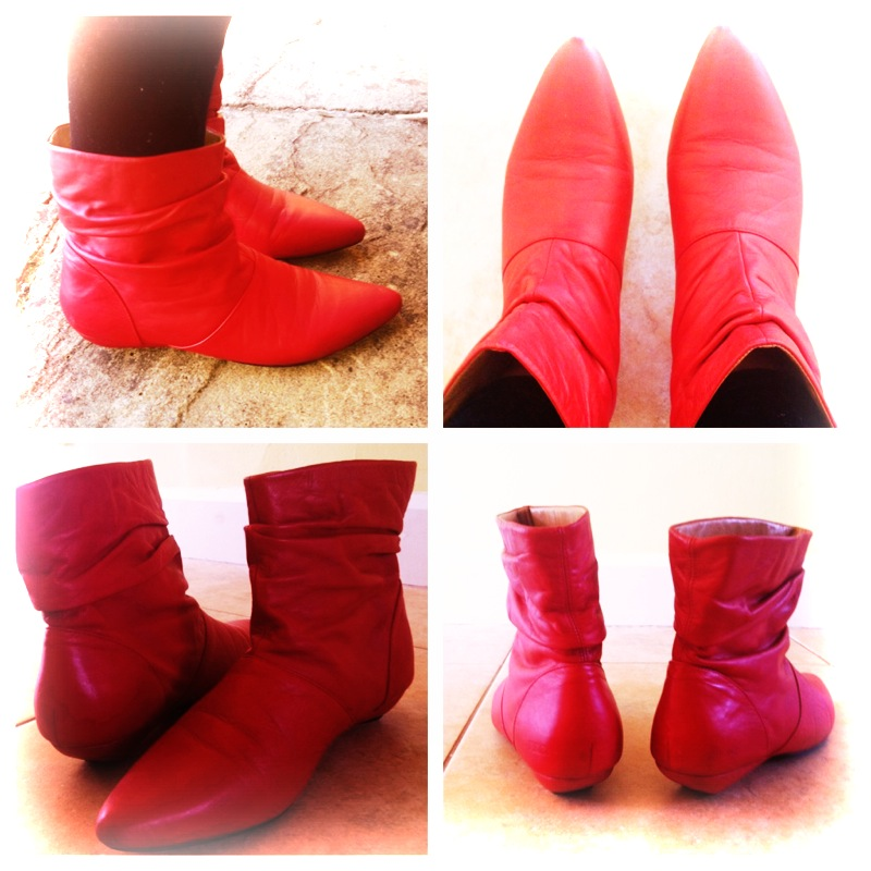 Supergirl boots!