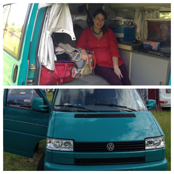 Glastonbury campervan