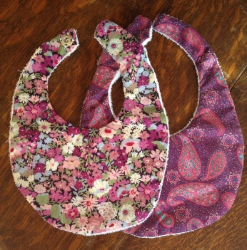 Liberty of London baby bibs